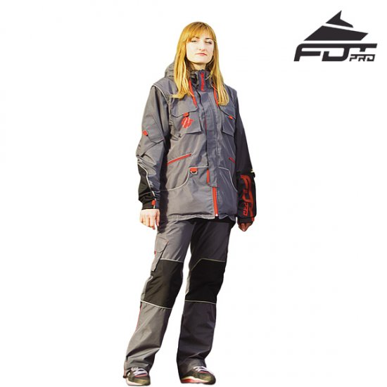 "FDT Pro ""Dress\'n\'Go\"" Any Weather Waterproof Tracksuit for Outdoor Activities"