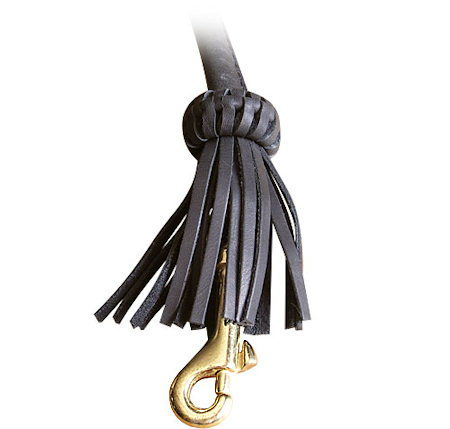 Rolled Leather Dog Leash 4 foot Round lead for all breeds