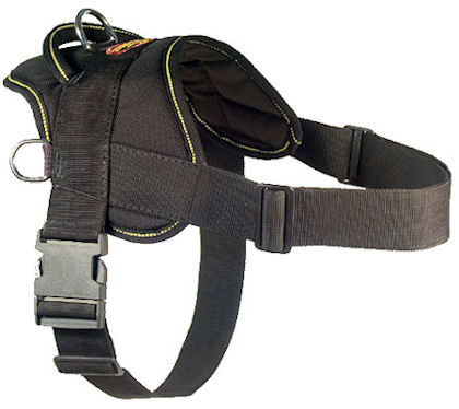 Nylon Designer Dog Harness for schutzhund dogs