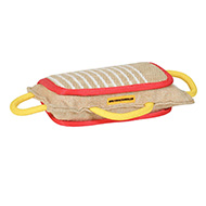 3 Handled Bite Pillow-Training Jute Bite PAD for Dogs Training