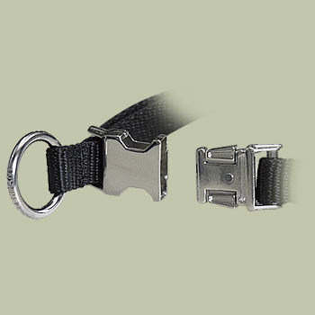 Nylon Quick-Release Training Pinch Collar for police dogs