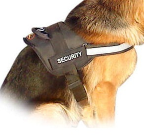 REFLECTIVE Dog HARNESS with a handle for working dogs