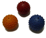 Rubber Squeaky Ball Dog Toy 2 3/8''(6cm)-Schutzhund Dog Toys