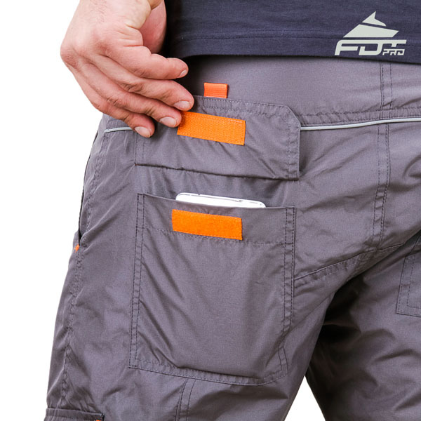 Comfy Design FDT Pro Pants with Strong Side Pockets for Dog Training