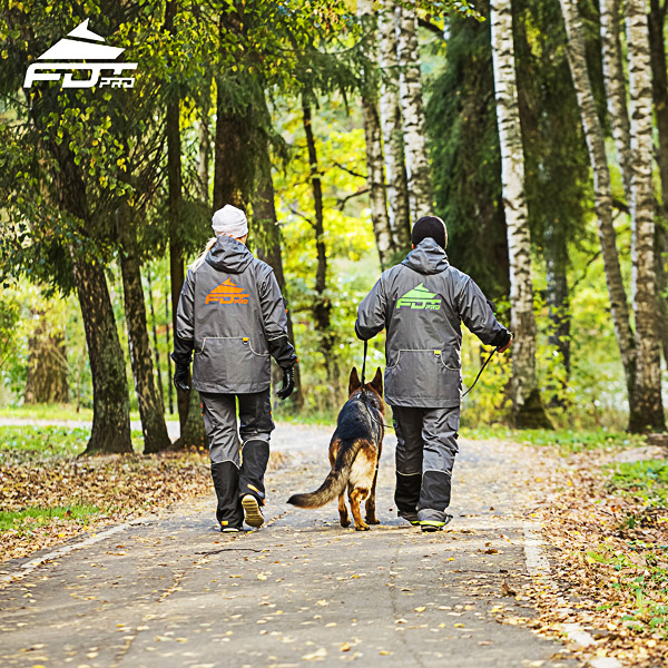 Pro Dog Training Jacket of Finest Quality for All Weather Use