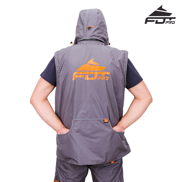 FDT Professional Dog Tracking Jacket with Side Pockets for your Convenience