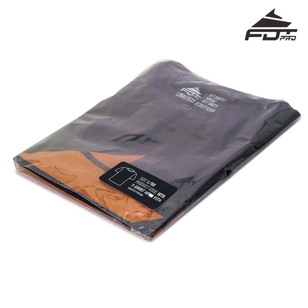 Packed Pro Design T-shirt of Dark Grey Color