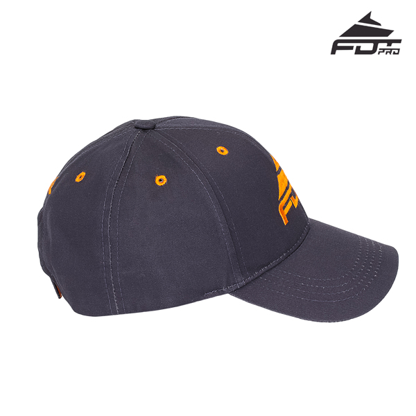 Reliable Adjustable Snapback Cap for Dog Walking