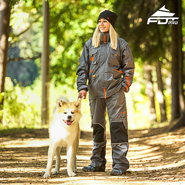 Men / Women Design Dog Tracking Jacket of Quality Materials