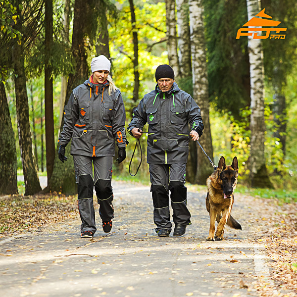 Any Weather Conditions Top Notch Dog Training Suit for Men and Women
