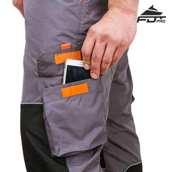 Comfortable Design FDT Pro Pants with Handy Back Pockets for Dog Training