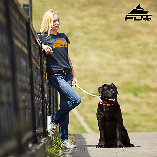 Women T-shirt of High Quality Cotton for Dog Training