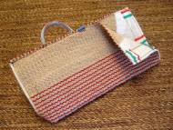 Dog bite sleeve cover made of jute with handle