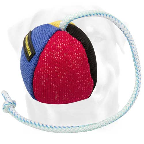 French Linen Dog Toy For Training