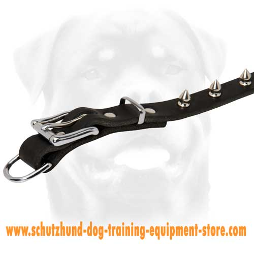 Leather Dog Collar For Cool Dogs