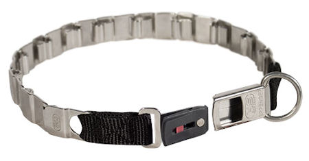"FUN-19"" STAINLESS STEEL dog collar NECK TECH COLLAR for training"
