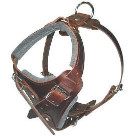 K9 Pro Leather Dog Harness for DOG