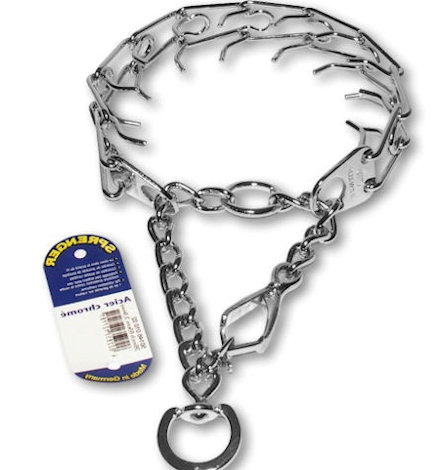 Prong Collar with Quick Release-working collar for working dogs