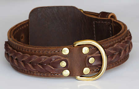 WESTERN DESIGNER CUSTOM LEATHER DOG COLLARS for DOG