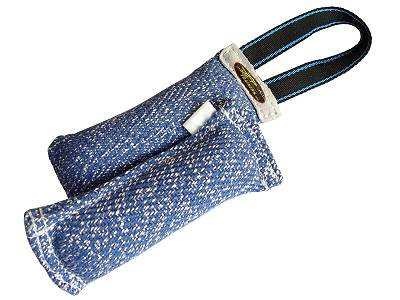 Great Synthetic-French Linen bite tug 8 inch x2-1/3 inch&handle