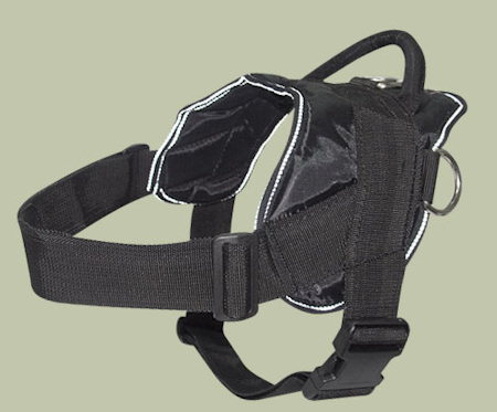 Dog pulling harness for Schutzhund Training