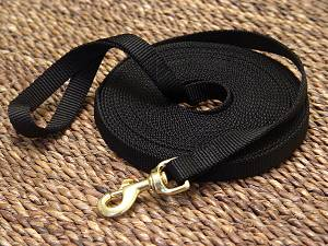 Nylon dog leash for training and tracking- dog lead for dog training or for dog owners