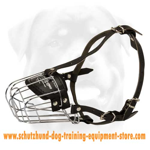 Light Weight Wire Cage Dog Muzzle