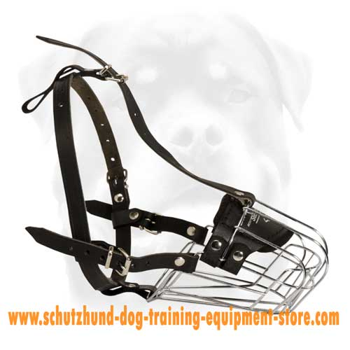 Perfect Wire Cage Dog Muzzle